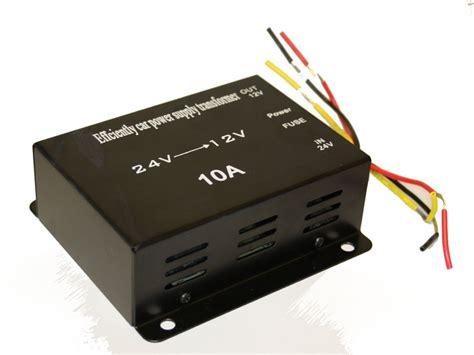 dc dc omvandlare 24 till 12 volt 10a