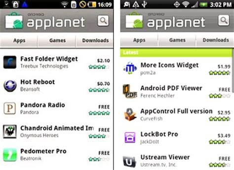 applanet apk a n d r o i d app applanet free android market