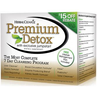 Premium Detox 7 Day Comprehensive Cleansing Program Does It Work by Herbal Clean Premium Detox 7 Day Complete Cleansing System