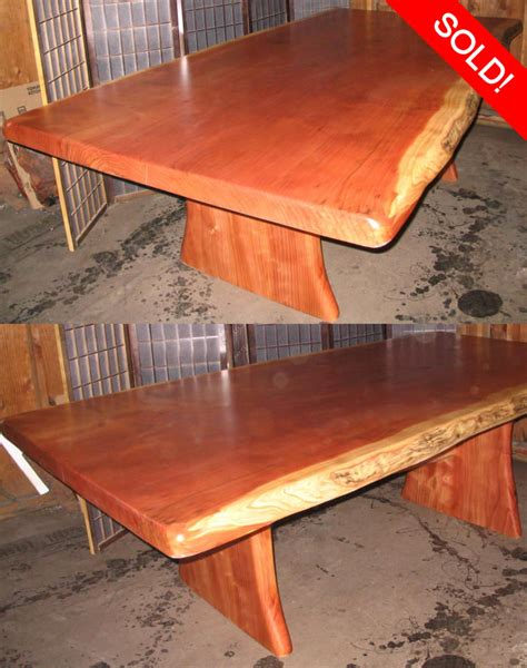 redwood kitchen table dining table redwood burl dining table