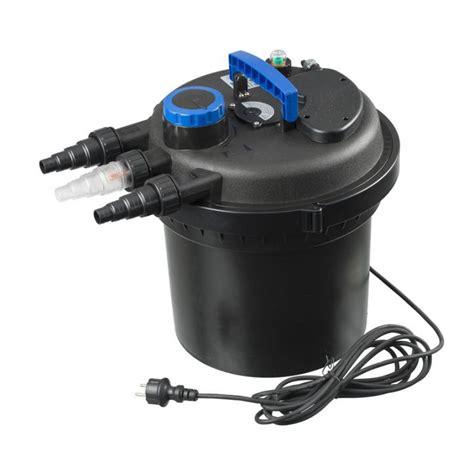 filtre bassin de jardin d 233 couvrez le filtre de bassin et uvc biopressure 10000l
