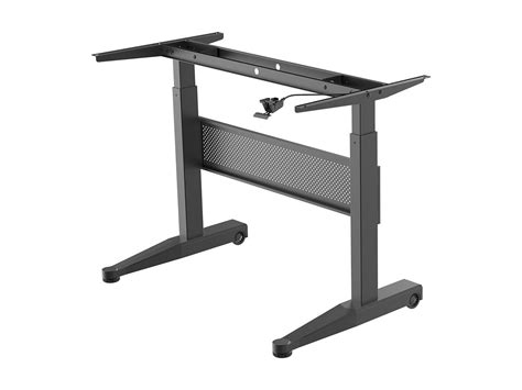 monoprice sit stand desk workstream by monoprice height adjustable gas lift sit
