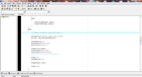 membuat garis html membuat garis dengan opengl pada dev c firs t blog