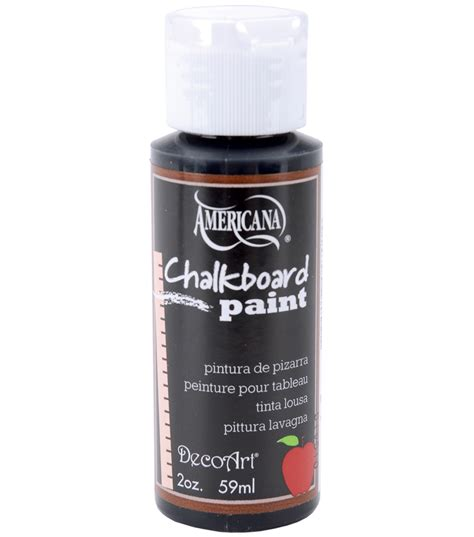 chalkboard paint black deco chalkboard paint 2oz black slatedeco