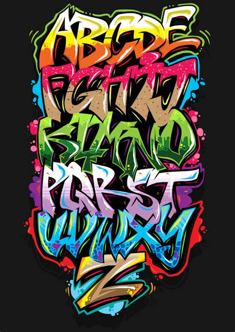 lettere in graffiti graffiti alphabet letter template 20 free psd eps