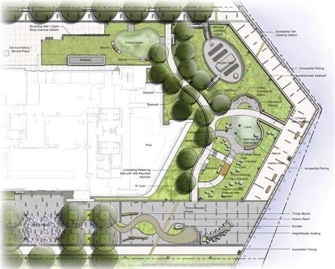boston design center zip code healing garden doubles as therapy trails building design