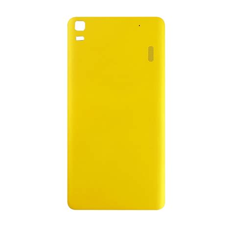 Lenovo A7000 Yellow replacement lenovo a7000 battery back cover yellow alex nld