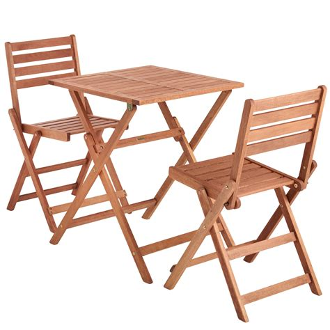 60 patio table set vonhaus 2 seat wooden table chair garden patio outdoor furniture set 60 x 60cm ebay