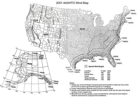 new jersey design wind speed map wind zone information