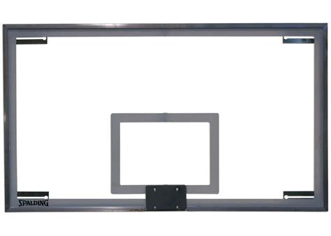 Kitchen Glass Wall by Spalding Superglass Scholastic Basketball Backboard