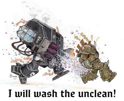 wash  unclean  plumporange warhammer