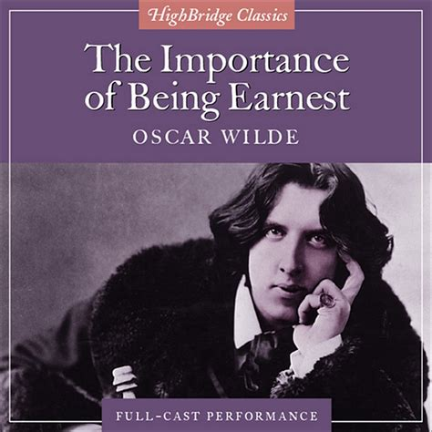 download the importance of being earnest audiobook by oscar wilde for just 5 95