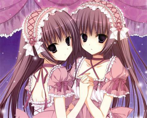 wallpaper anime twins twins wallpaper wallpapersafari