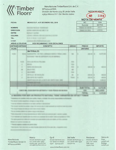 2016 factura mis cuentas rif factura publico en general del rif de 2016 factura global