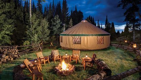 Tent Platform experiences yurts glamping com
