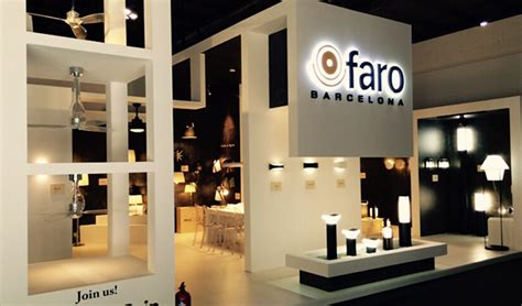 design house barcelona lighting the designs by faro barcelona are present at euroluce faro