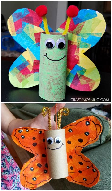 Crafts With Paper Towel - best 25 cardboard crafts ideas on