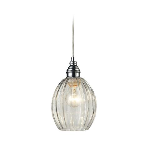 Glass Light Pendants Mini Pendant Light With Clear Glass 46017 1 Destination Lighting