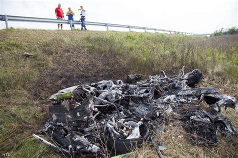 Lamborghini Huracan Crash Lamborghini Huracan Reduced To Ashes In Fiery Hungarian