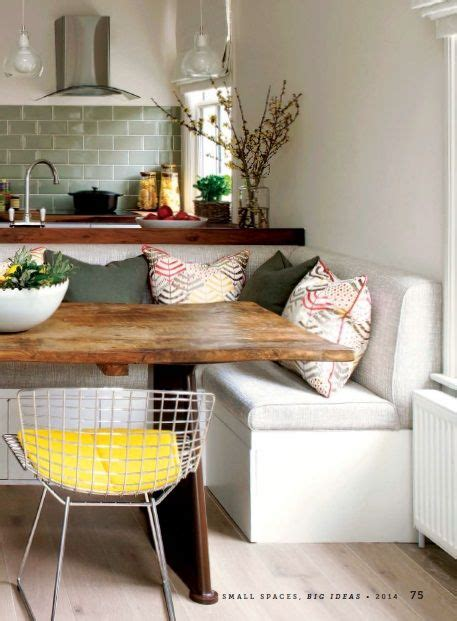 Small Kitchen Dining Room by Make A Small Space Feel Larger An Open Floor Plan A