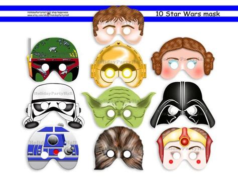 printable r2d2 mask printable masks star wars and masks on pinterest