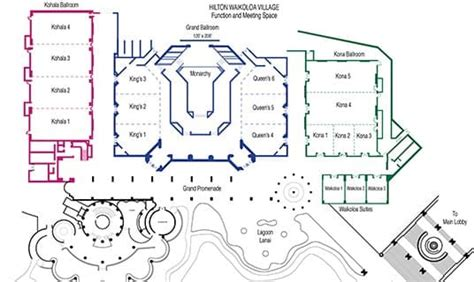 hawaii convention center floor plan hawaii convention center at hilton waikoloa village