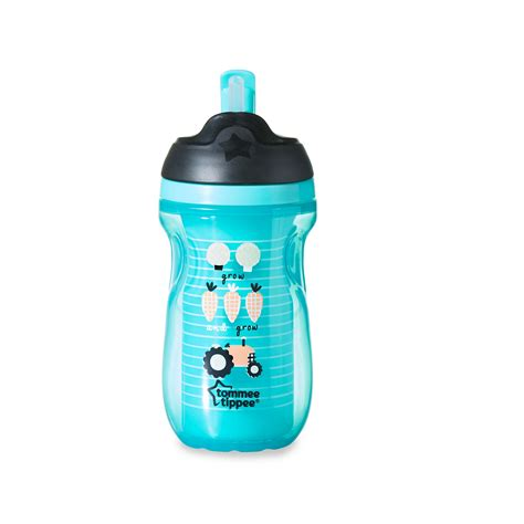 tommee tippee insulated straw cup 12 m