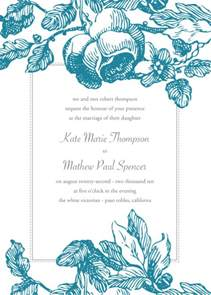 Free Invitations Templates by Free Wedding Invitation Card Templates