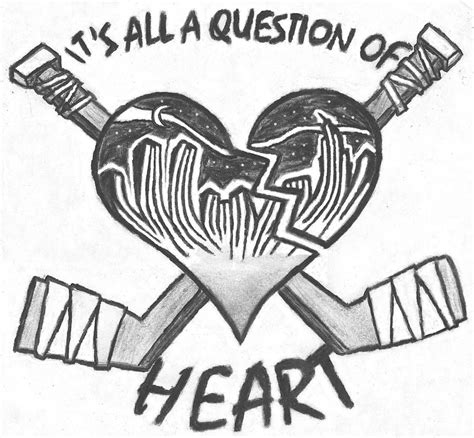 hockey heart by truebeliever92 on deviantart