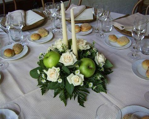 candele galleggianti ikea centrotavola con candele e mele verdi centrotavola