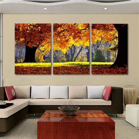 livingroom paintings 2018 nature canvas painting scenery pattern for living