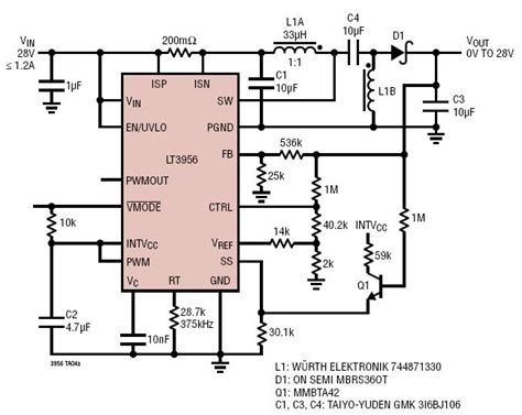 supercapacitor voltage limit solutions 28v input to 0v to 28v output sepic supercap charger with input current limit