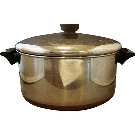 vintage revere ware 4 1 2 qt oven 1801 cookware