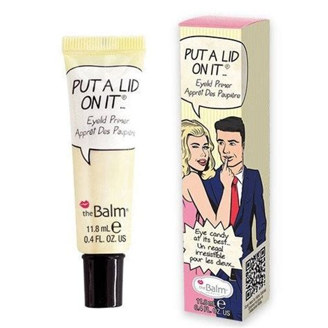 Thebalm Put A Lid On It thebalm put a lid on it baza pod cienie makija綣 oczy