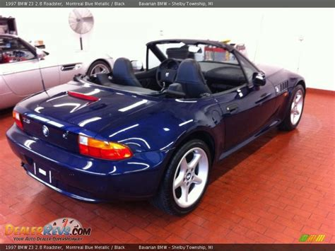 bmw z3 2 8 1997 bmw z3 2 8 roadster montreal blue metallic black