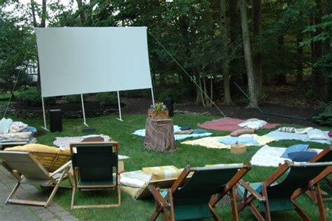 backyard movie night ideas juicy bits party planning