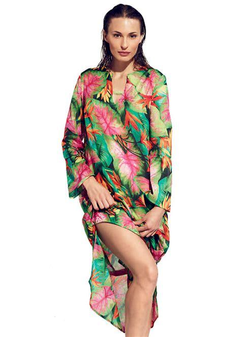 Kaftan Black Flower buy rosch flower kaftan at uk swimwear