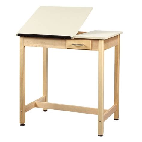 Drafting Table Surface Diversified Woodcraft 36h Dual Surface Drafting Table With Small Drawer Great Chance
