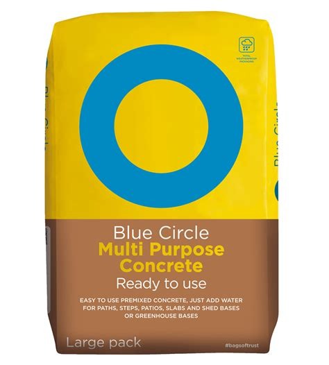 multi purpose blue circle multi purpose concrete blue circle cement