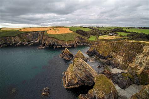 top autumn destinations ireland dronestagram