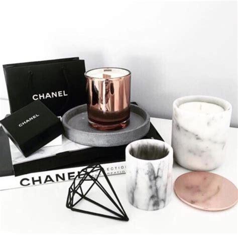 Diamond Home Decor home accessory diamonds candle black metal copper
