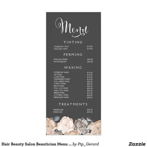 25 best ideas about spa menu on pinterest beauty salons