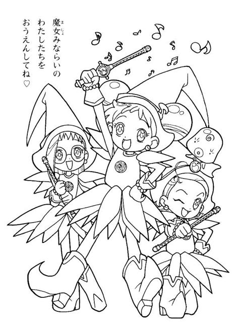 kids n fun com coloring page magical doremi magical doremi