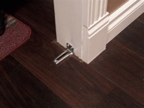Closet Door Floor Track How To Install Bifold Closet Doors