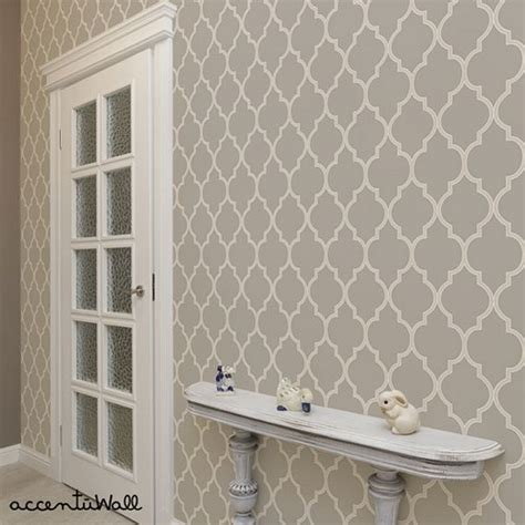 moroccan wallpaper beige peel and stick moroccan warm grey peel and stick fabric wallpaper 2ft x