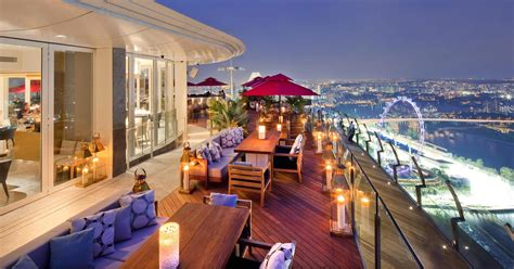 bar on top of marina bay sands singapore s iconic ku de ta undergoes big makeover