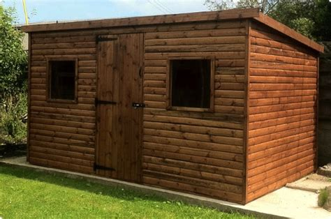Garden Shed 12x8 by Ham Pent Shed Plans Forum 8