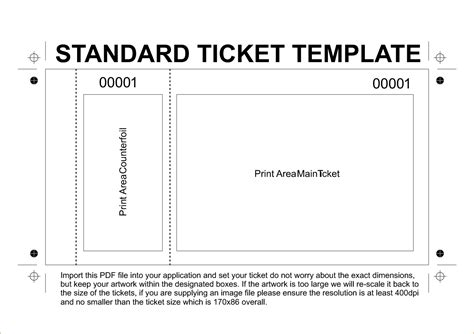 Ticket Template Word Doliquid Microsoft Word Ticket Template