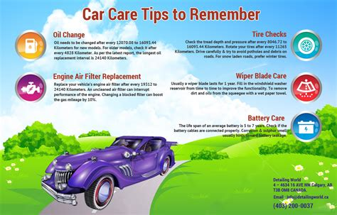 easy and car care tips to remember