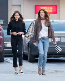 Kaia Gerber Amp Cindy Crawford Shopping At Sephora In